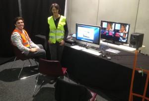 Prue Dudley (JMC) and Thomas Kerwan (SIfa) install Hosting Control
